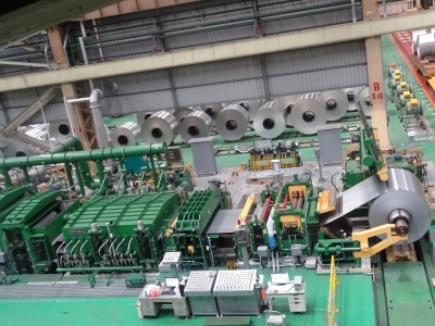 Aluminium Strip Cleaning Line